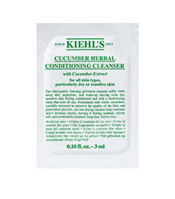 Cucumber Herbal Conditioning Cleanser Sample 3ml