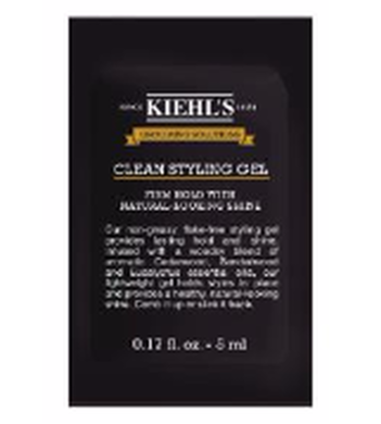 Grooming Solutions Clean Styling Gel Sample